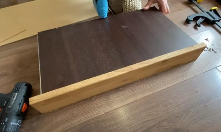diy floating desk drawer bottoms