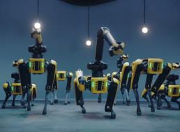 Spot Robots Celebrate Boston Dynamics Hyundai Deal With a Jolly Dance