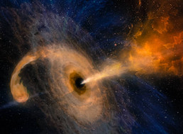 This Is How Big the Largest Black Holes Are