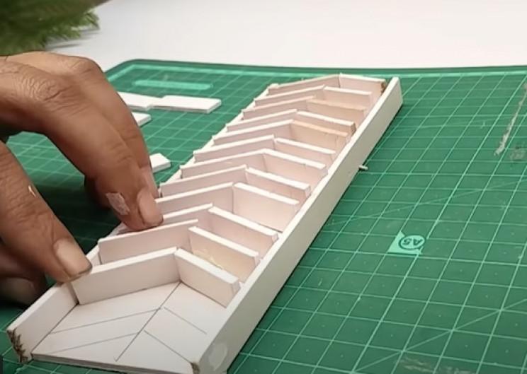 foam board chevrons