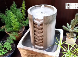 Learn How to Make Your Own Desktop Coin Fountain