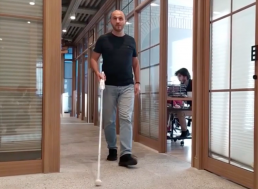 New Smart Cane Aims to Integrate Blind People More into Daily Life