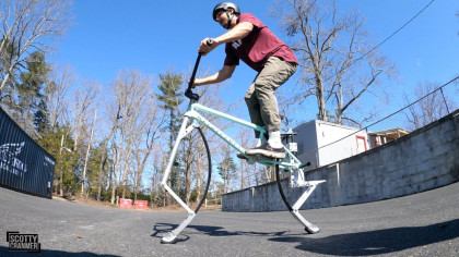 This Pogo Bike Let's You Bounce Up and Down In Style