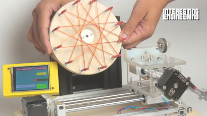 Build Your Own Arduino-Based Rodin Coil Winding Machine