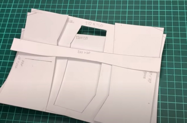 diy leather passport covers cut outs