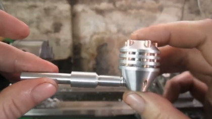 How to Make a Smoking Pipe Using Only Metal