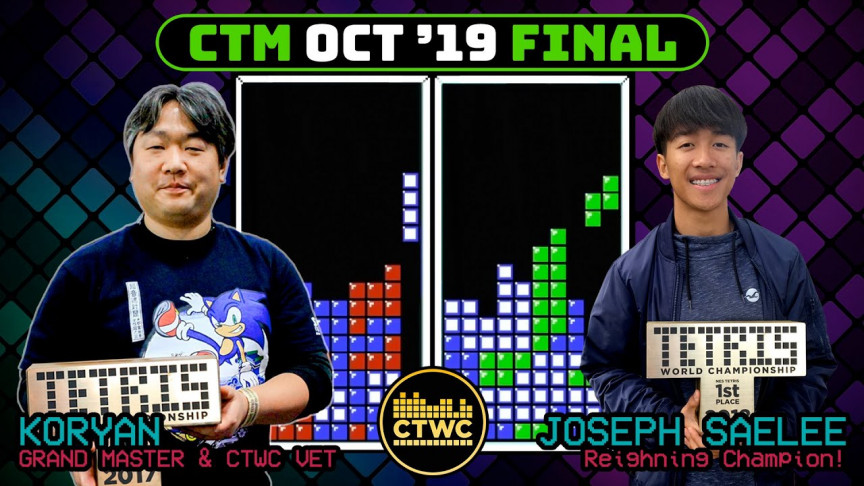 17-Year-Old Tetris Player Becomes the World Champion, Again