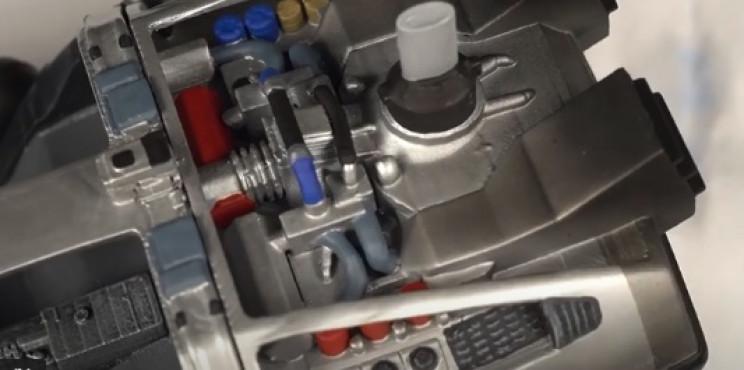 diy dmc-12 rear details