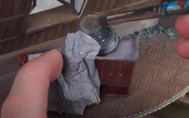 diy soviet diorama dusty furniture