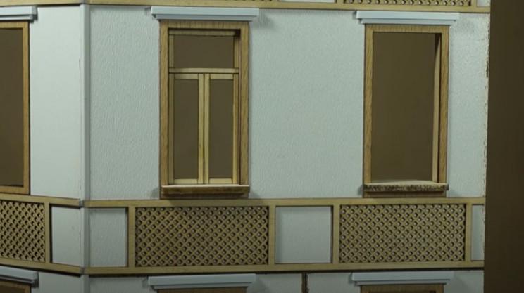 diy soviet diorama building details