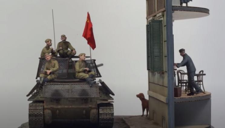 diy soviet diorama soldiers
