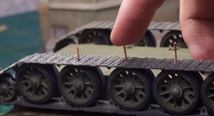 diy soviet diorama fix tank