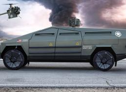 Man Builds Combat Cybertruck for the Modern Battlefield