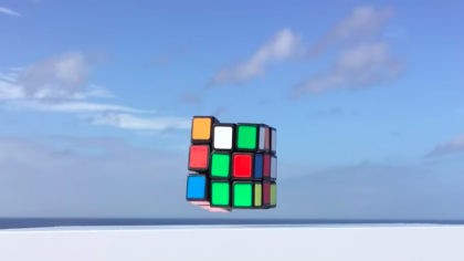 Watch This Rubik's Cube Solve Itself in under A Minute