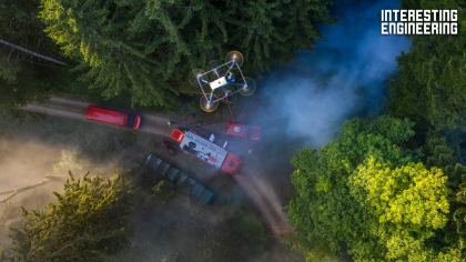 5G Drones Help Firefighters See From the Sky Above