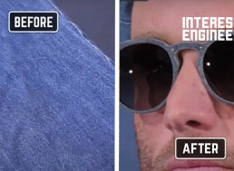 How to Turn Old Jeans into Swanky Sunglasses