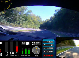 Zyrus 1,200 HP Lambo Blows a Tire on Famous Track at 130 MPH