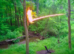 Watch This New Hardcore Flame Throwing Drone in Action