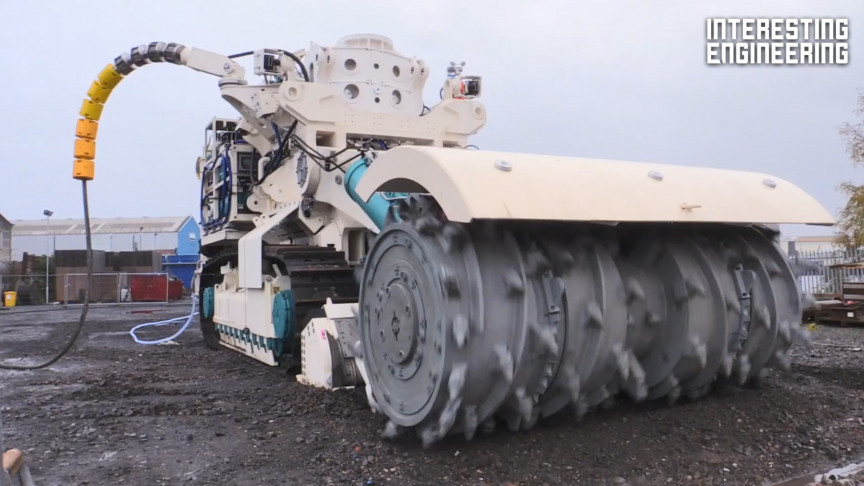 These Industrial Construction Machines Are Very Powerful