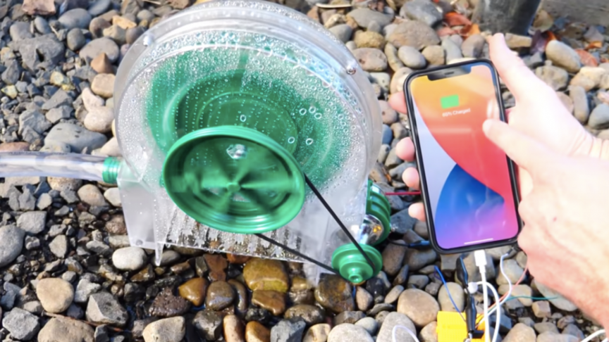 Turns Out, You Can Charge a Phone With Water. But How Much Does It Take?