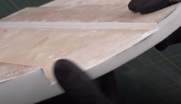 diy diorama sand down
