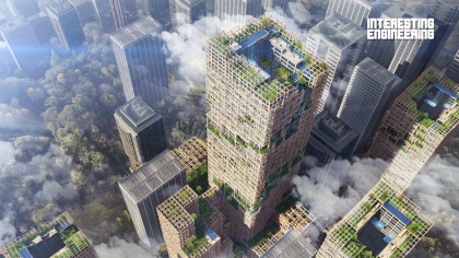 How Viable and Practical Are Wooden Skyscrapers?