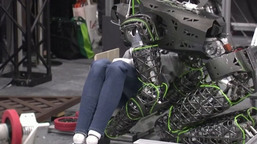 This Robot Will Save You in Disaster Areas