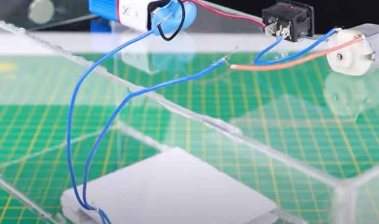 diy mouse trap complete circuit