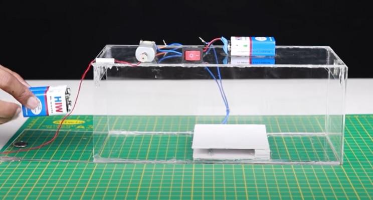 diy mousetrap complete