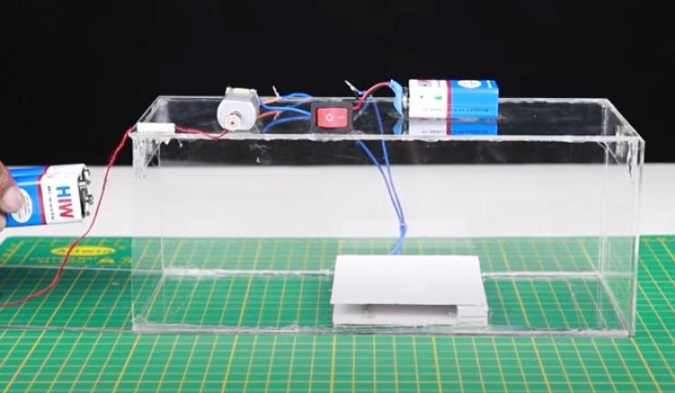 diy mousetrap test