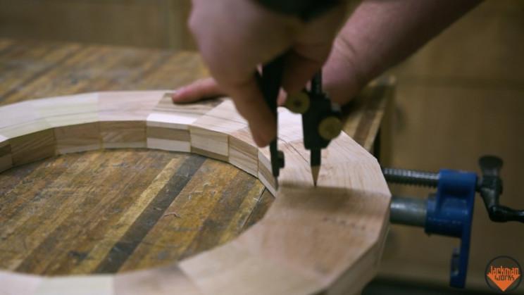 wood vase wave forms