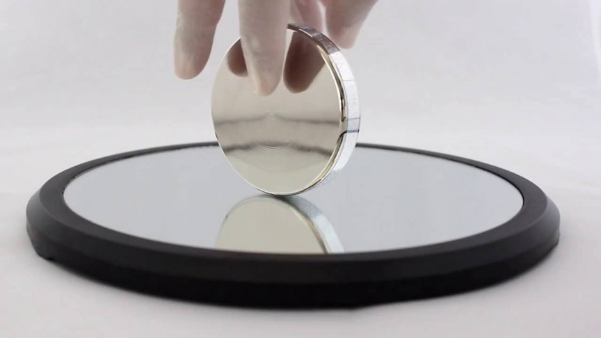 Euler's Disk Spinning for 2 Minutes Straight
