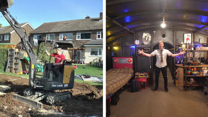 Visionary YouTuber Built Unground Apocalyptic Bunker in His Backyard 5 Years Ago