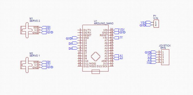 arduino maze diy circuit