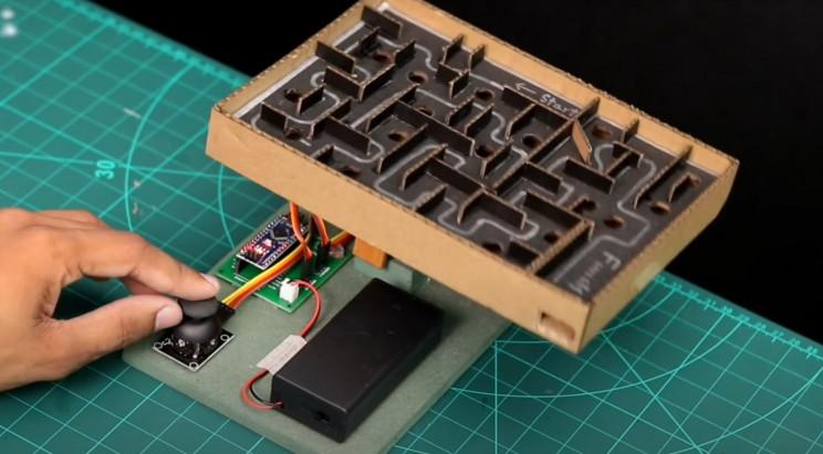 arduino maze complete