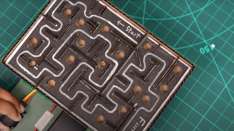 arduino maze game complete