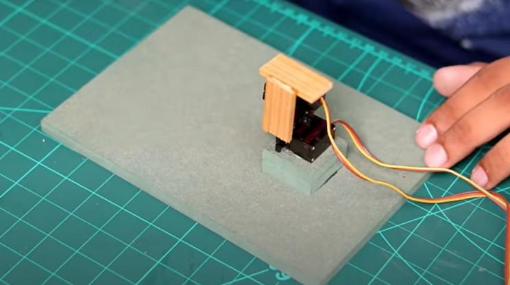 arduino maze mover