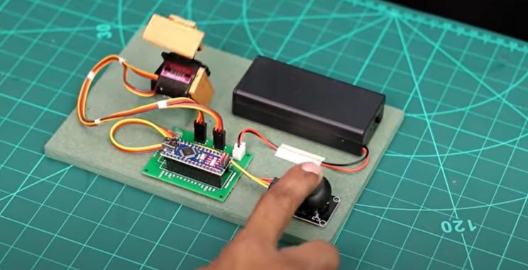 arduino maze near complete