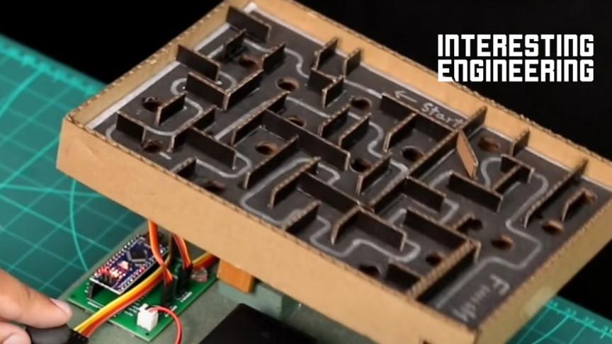 Love Tiltable Maze Games? Then Build Your Own