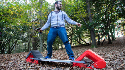 YouTuber Engineers All-Terrain Skateboard, Takes It On A Ride