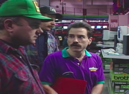 Time Traveling to Watch People Buying Computers Back in 1994