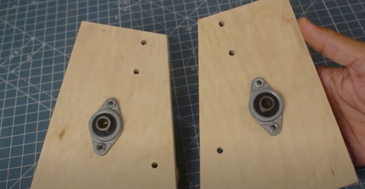 arduino label dispenser bearings