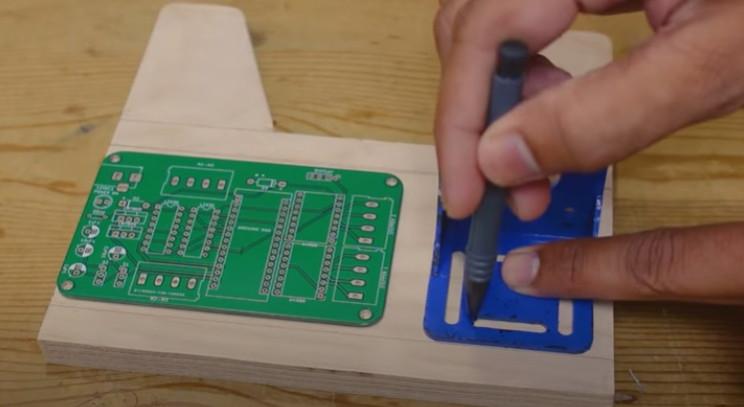 arduino label dispenser pcb