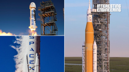 The Key Players in the Space Race