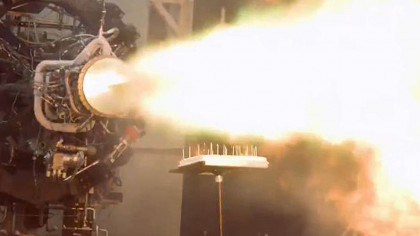 Firefly Aerospace Lights Birthday Candles With a Rocket Engine