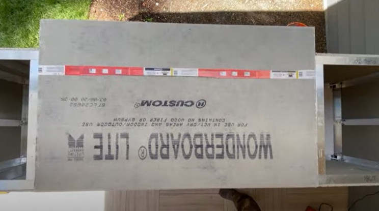 outdoor grill countertop