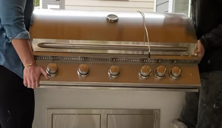 diy grill install