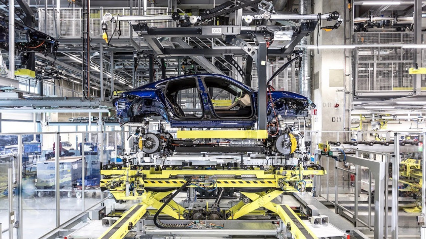 See How Porsche's New All-Electric Sportscar, the Taycan, is Made
