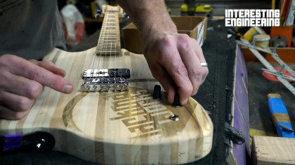 How You Can Make Your Own Scrap Wood Guitar