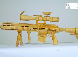 Making a Working Homemade HK G28 Sniper Rifle